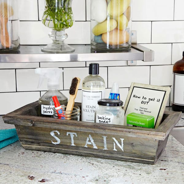 Diy stain station