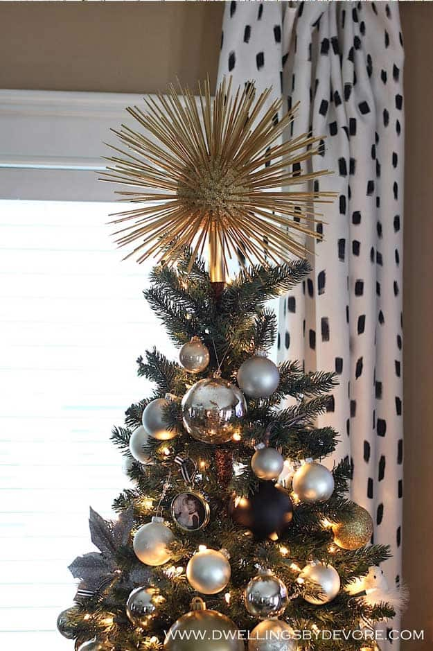 Christmas Tree Topper Ideas.15 Diy Christmas Topper Ideas For Your Tree This Year