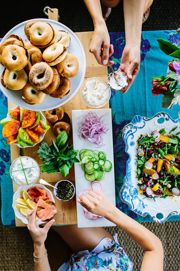 How to create a bagel bar
