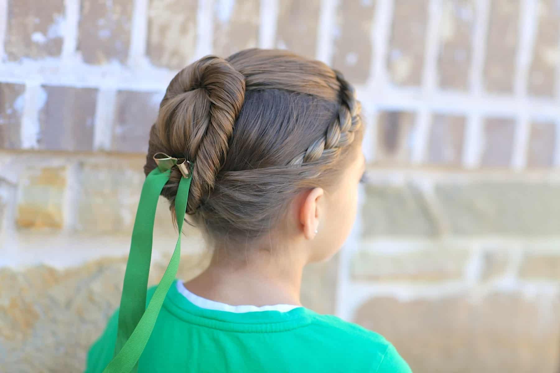 Princess coronotaion style hair tutorial