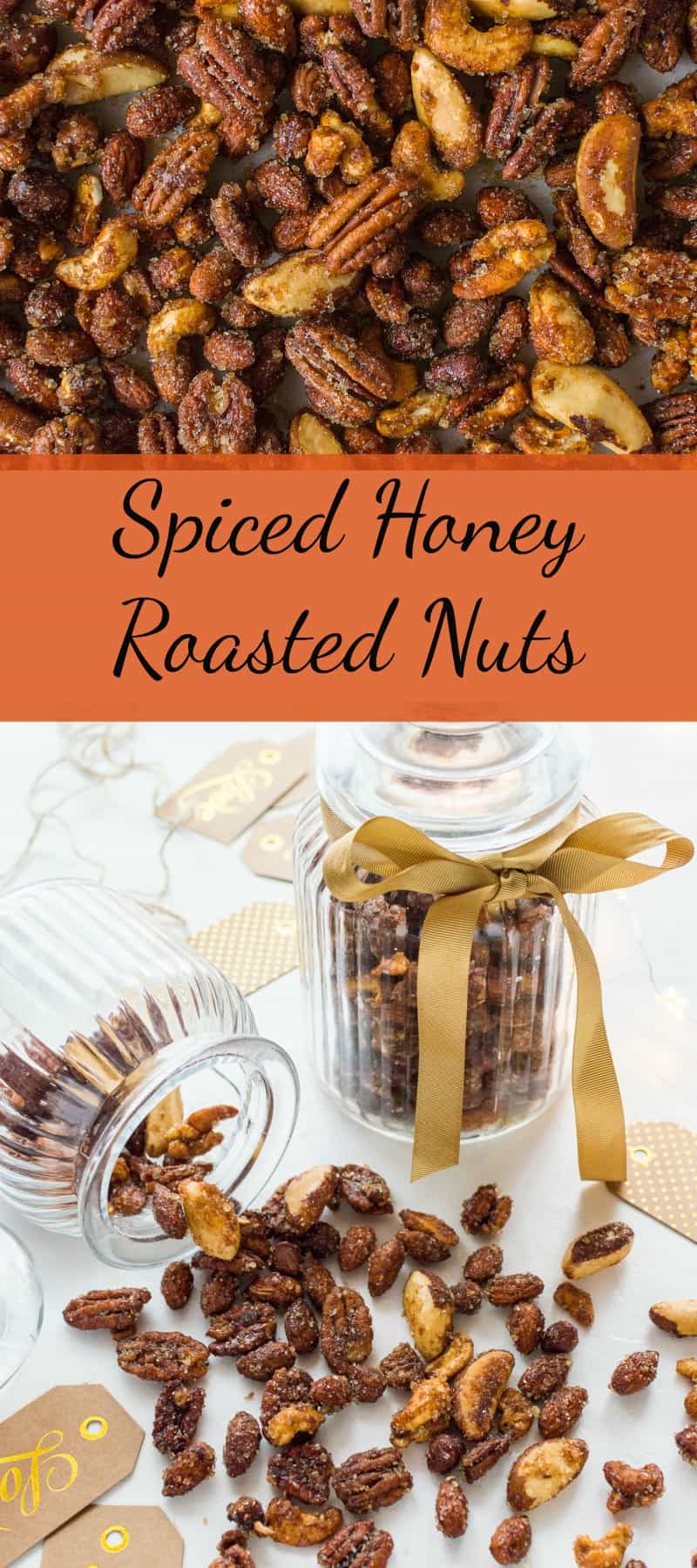 Spiced honey roasted nuts pinterest