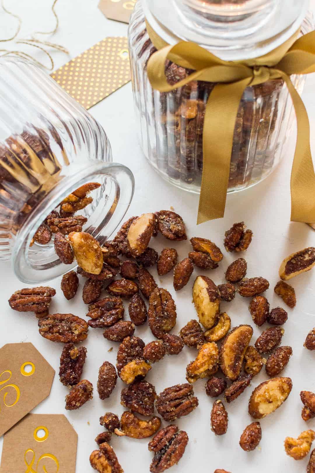 Spicy honey roast mixed nuts