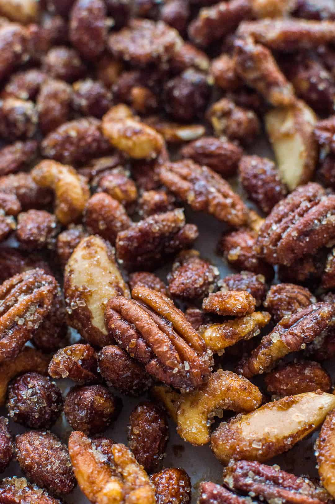 Spicy honey roast nuts