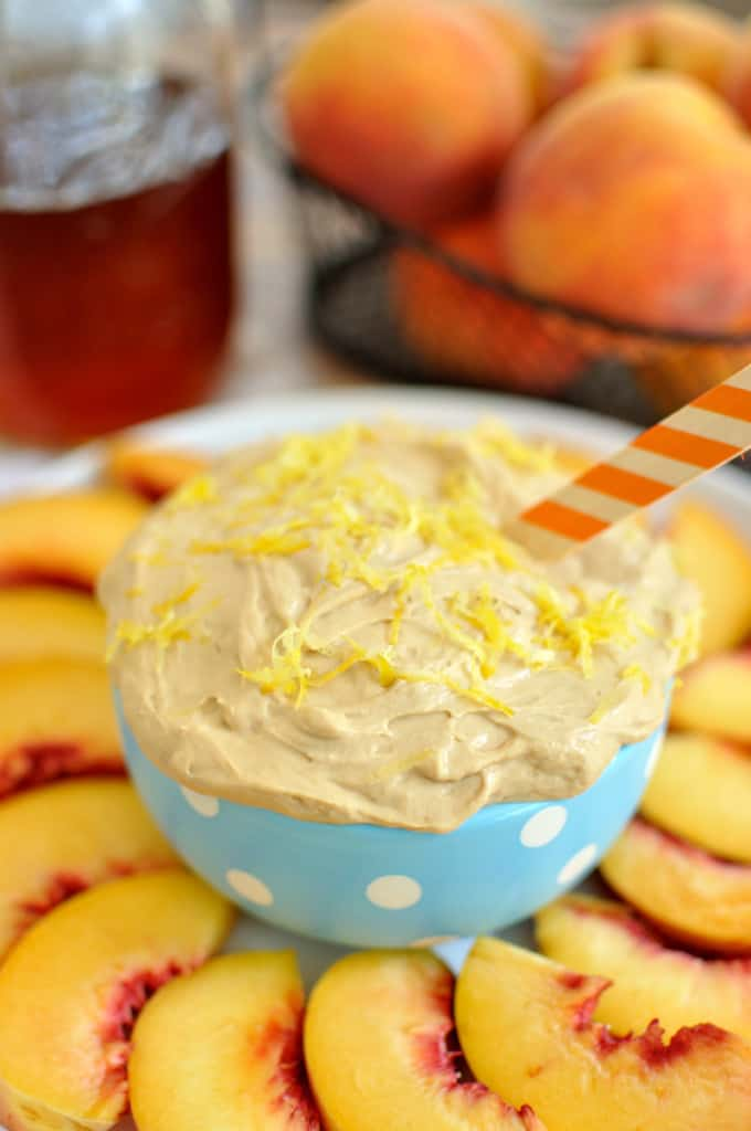 Sweet tea fruit dip recipe