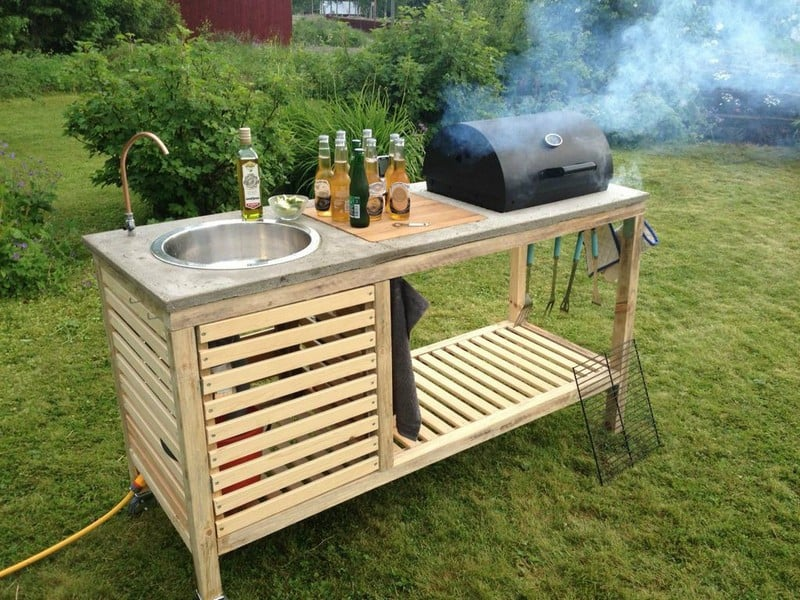 15 outdoor kitchen designs that you can help diy the perfect bbq diy solutioingenieria Gallery