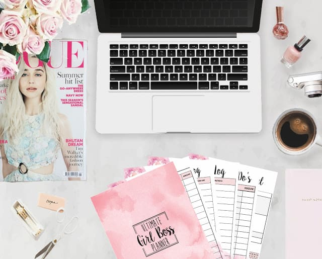 Ultimate girl boss planner diy