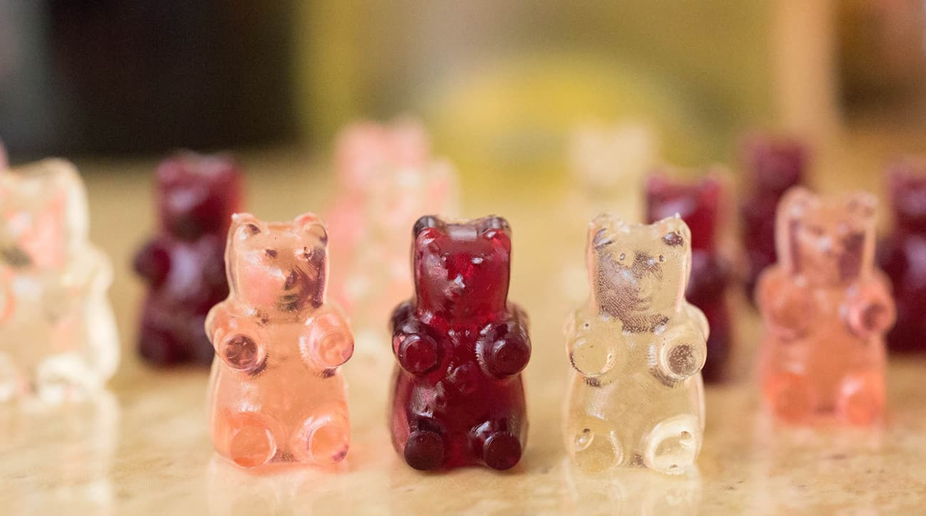 Wine gummy bears recipe