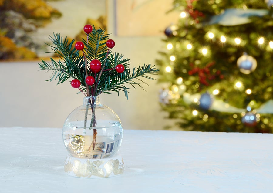 Diy ornament vase 9