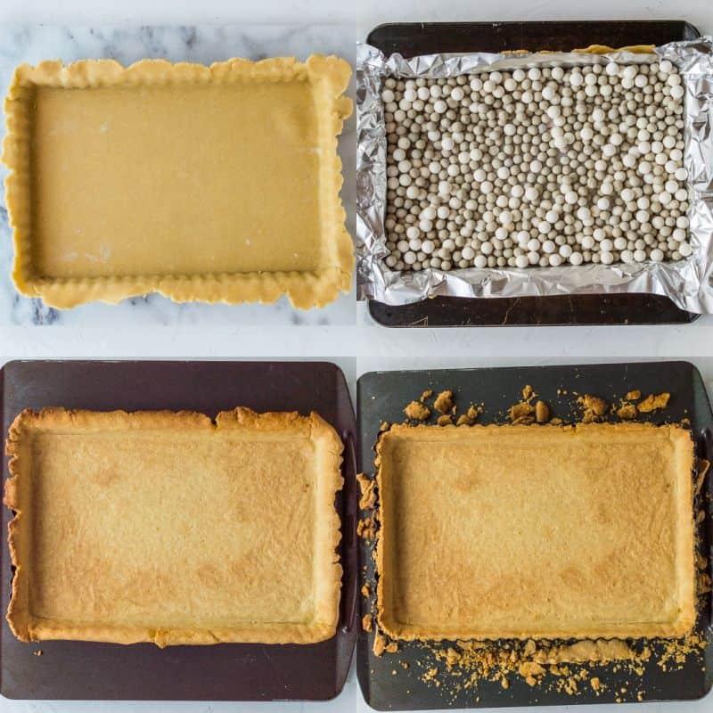 Festive starry mince pie tart bake