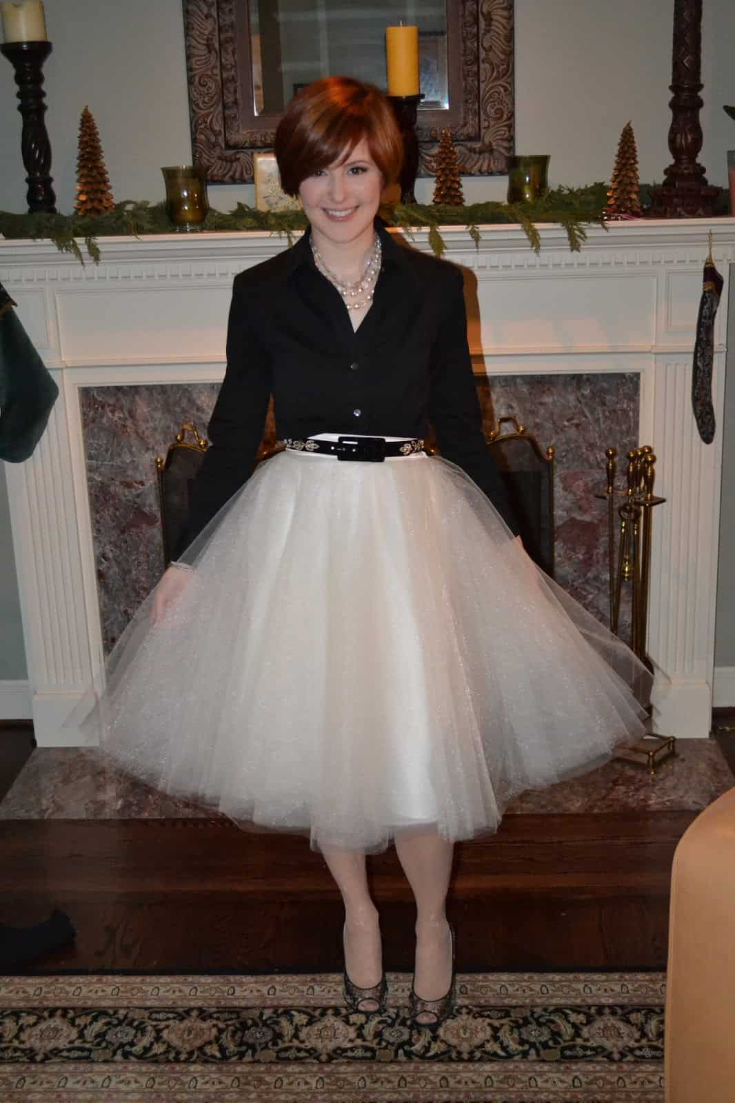 Full diy tulle skirt