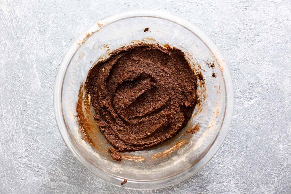 Hot chocolate trifle mixture