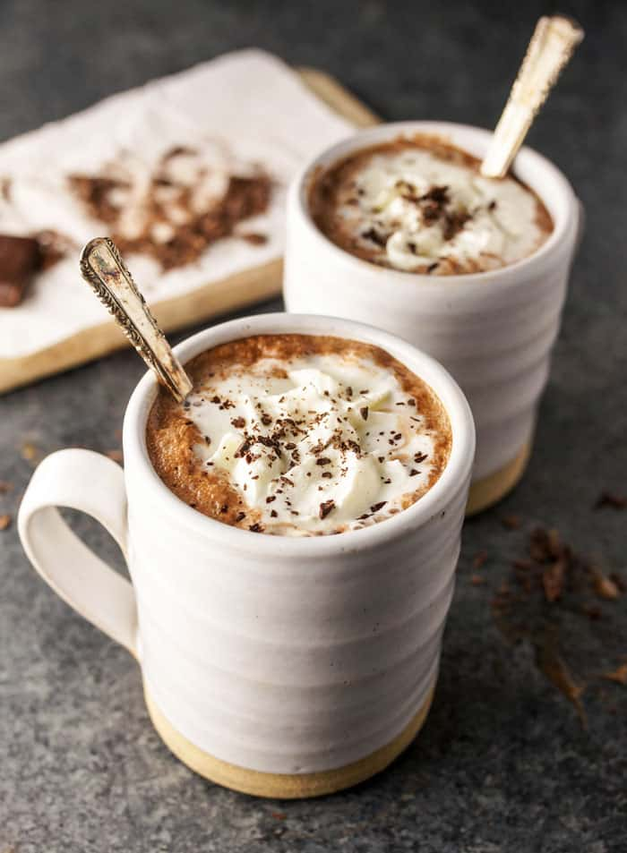 Almond milk hot chocolate recipe
