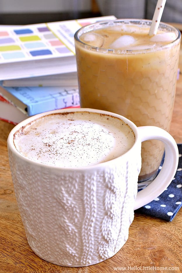 Dirty chai latte recipe