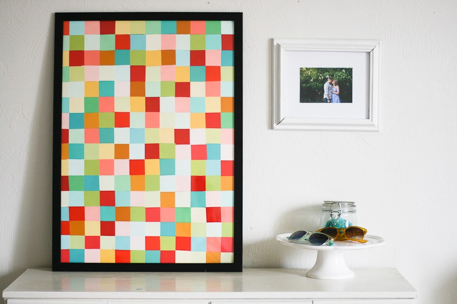 Diy paint chip wall ar