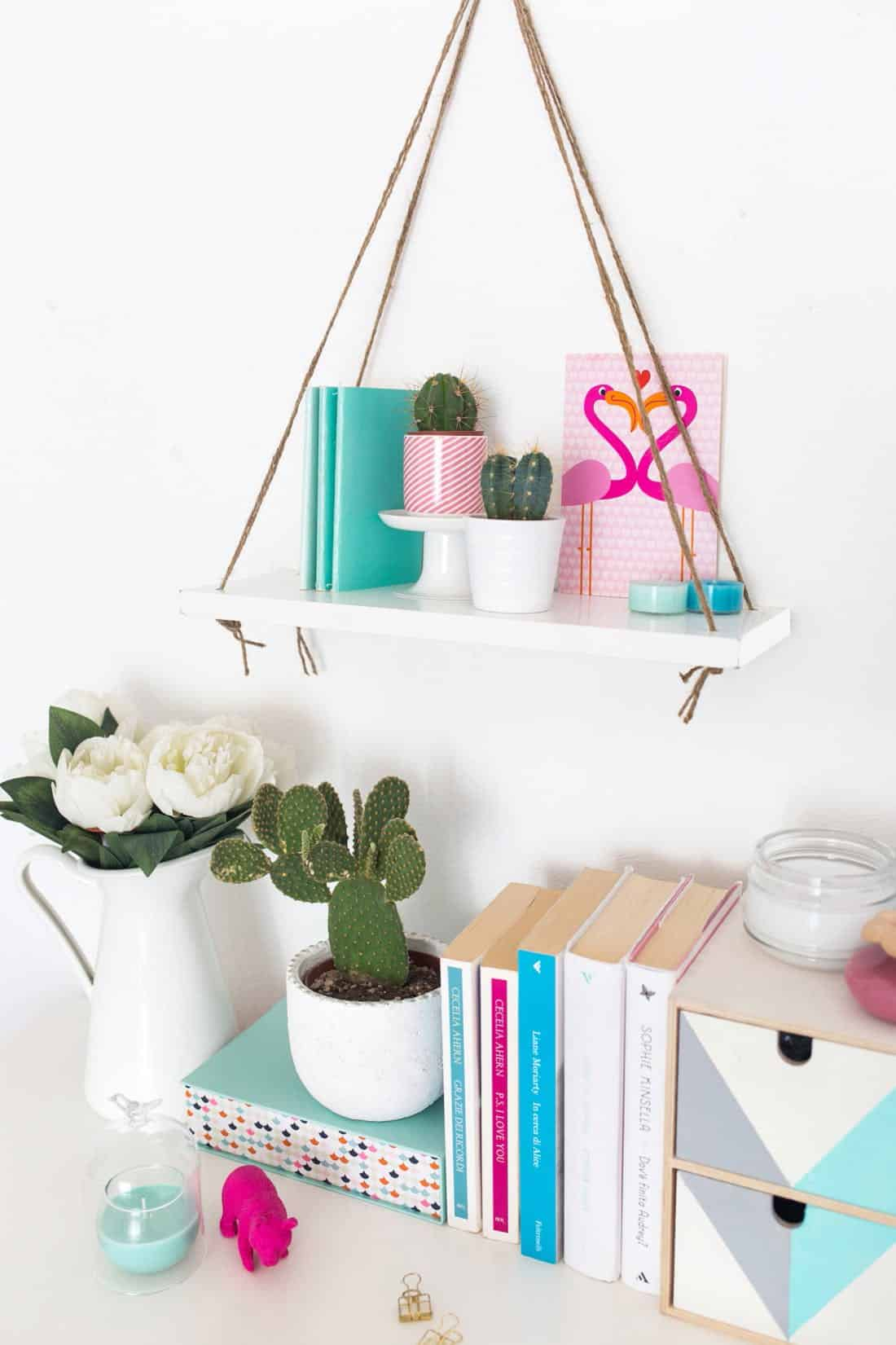 Diy swing shelf