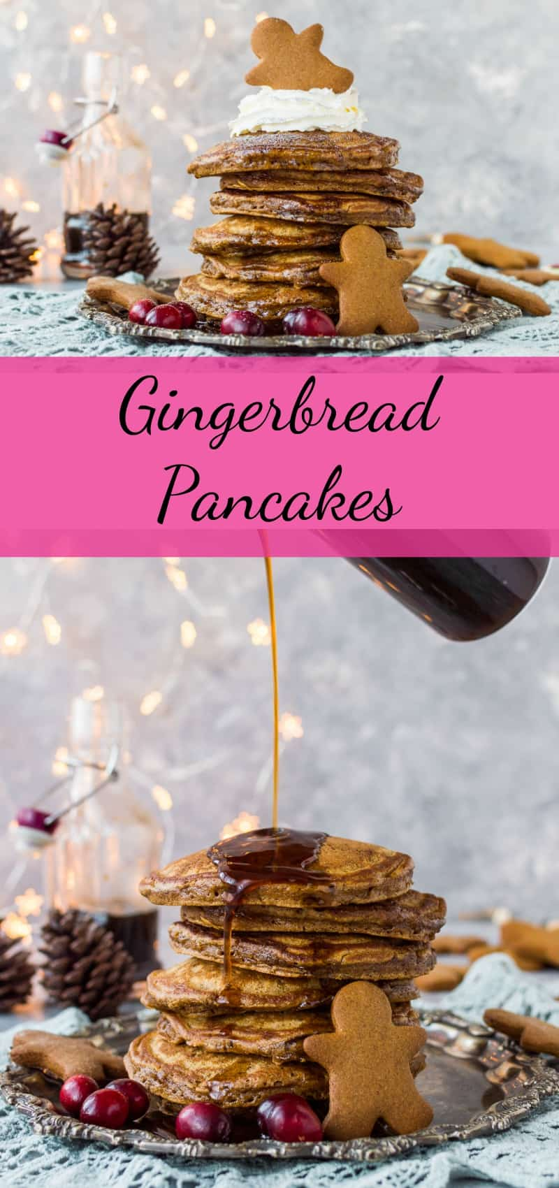 Gingerbread pancakes pinterest