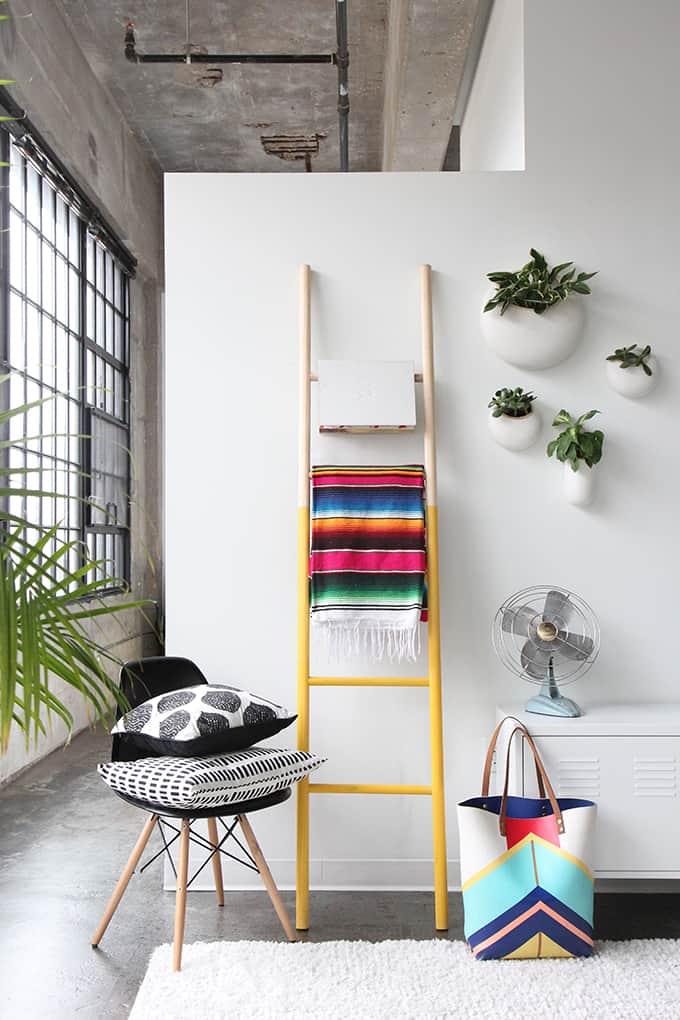 Wooden ladder diy