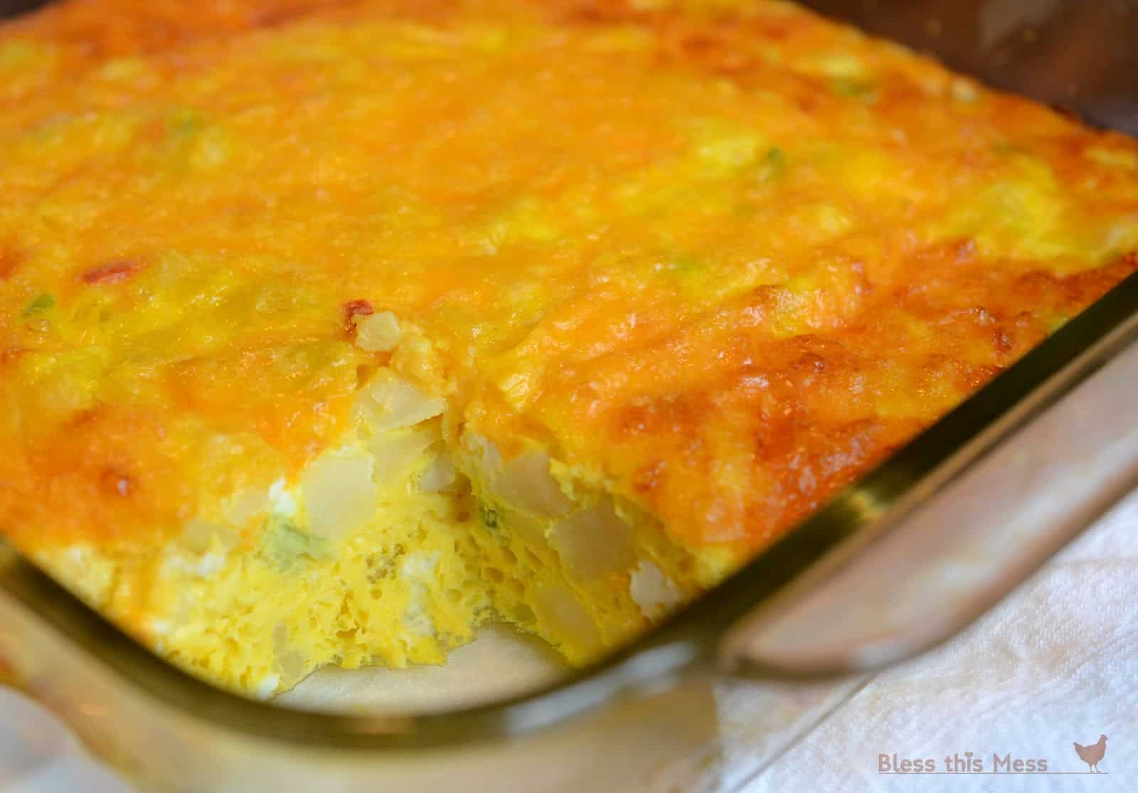 Brunch potato casserole