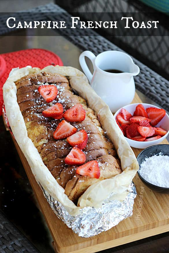 14 Campfire French Toast
