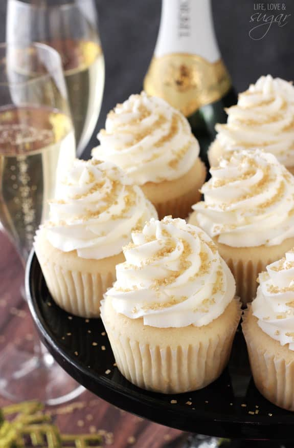 Champagne cupcakes recipes