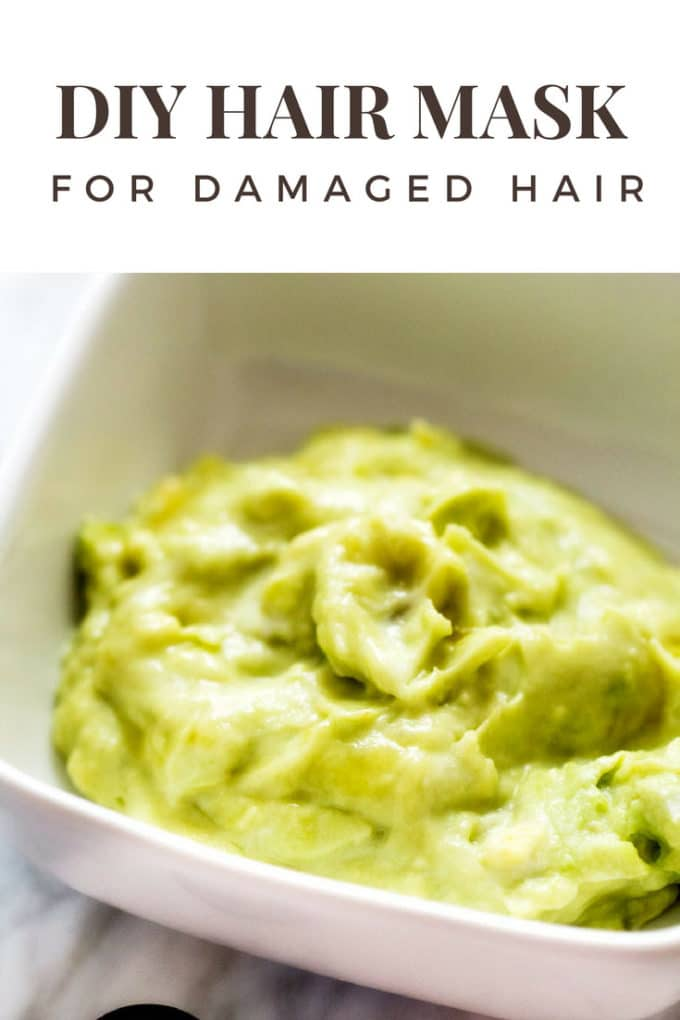 Diy hair mask fo damaged hair