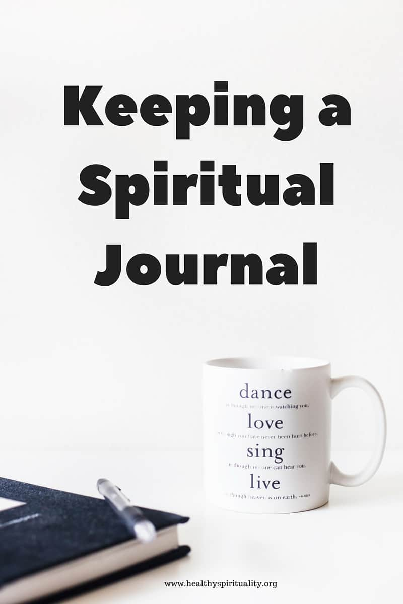 Keeping a spiritual journal