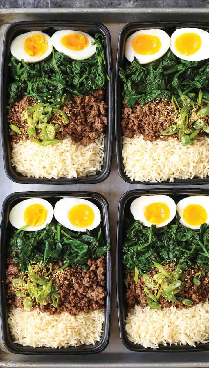 Korean beef bowl meal prep (1)
