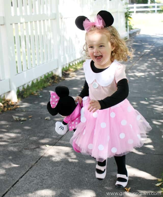 Pink minnie mouse dress for kids