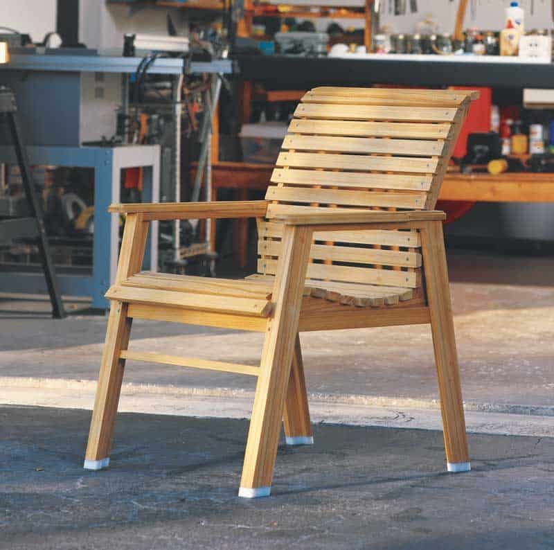 Simple beginner patio chair
