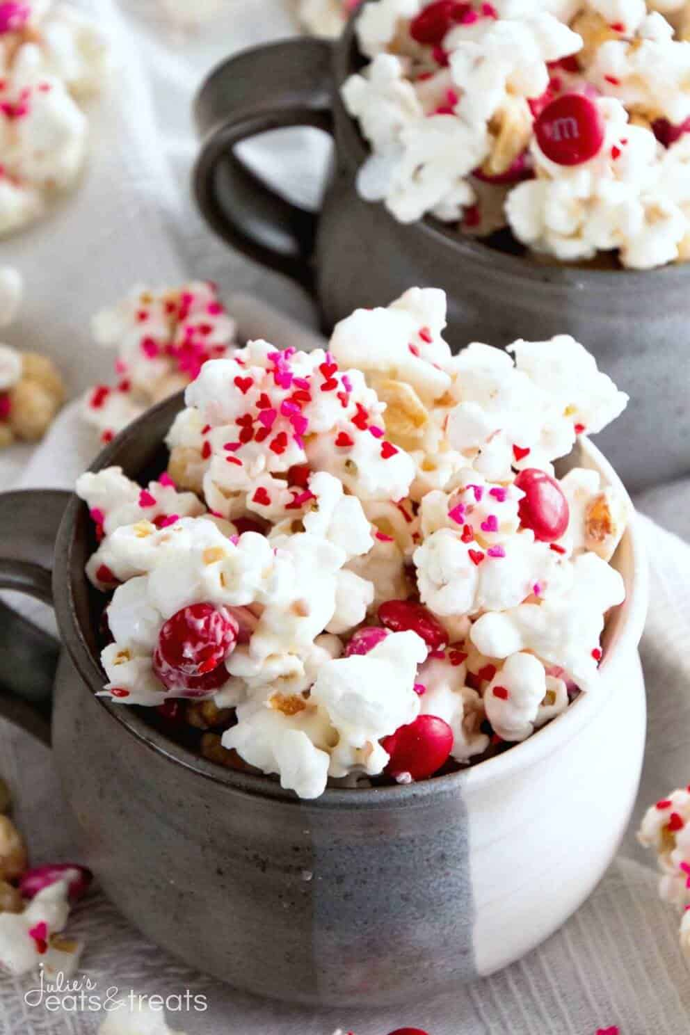 Valentines snack mix recipe