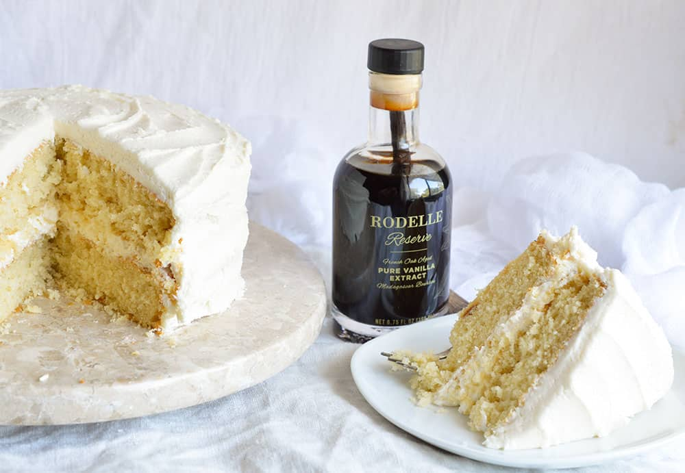 Vintage vanilla cake recipe from scratch