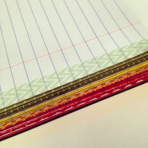 Washi tape color coding