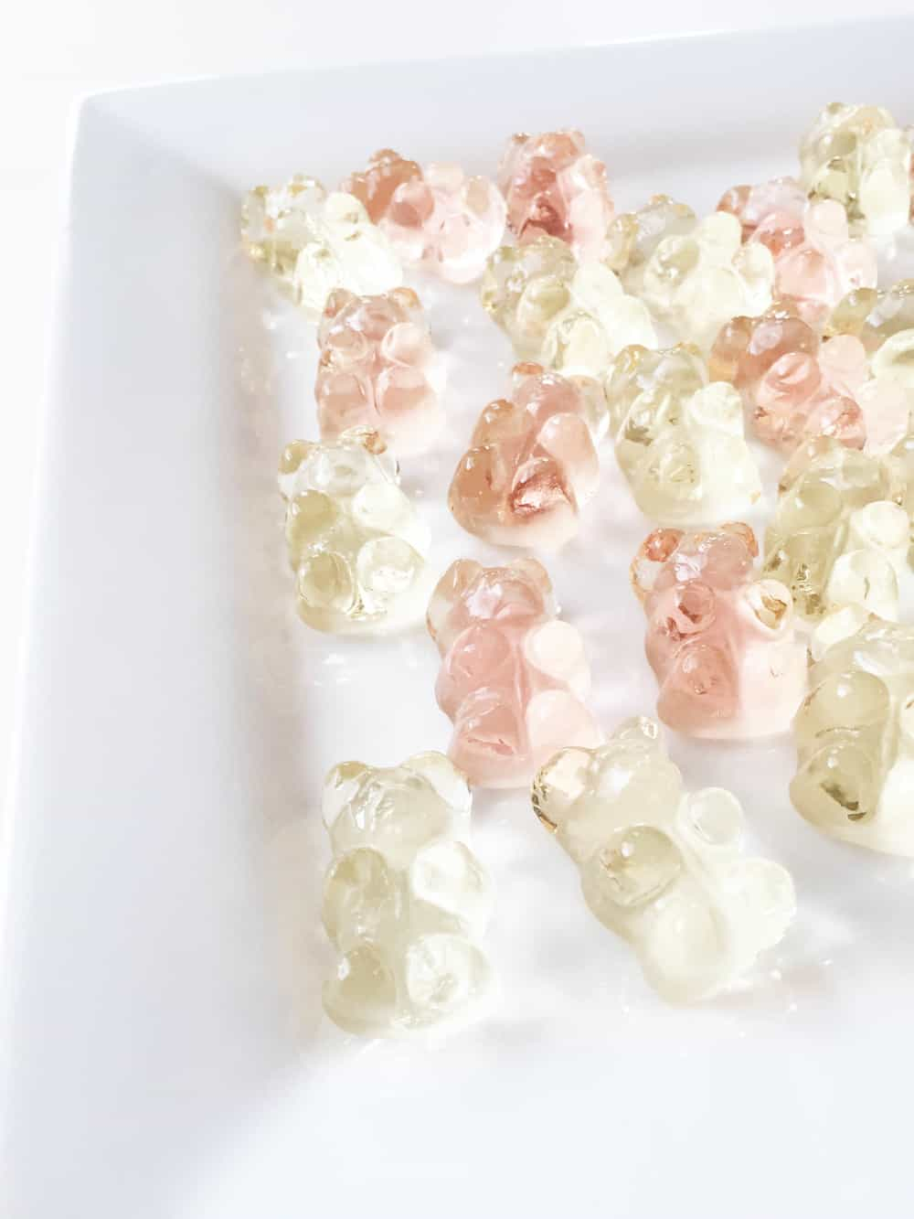 Champagne gummy bear recipe