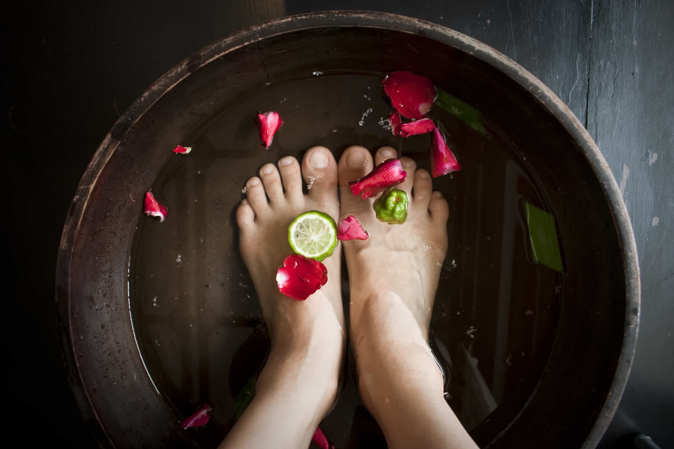 Diy foot bath