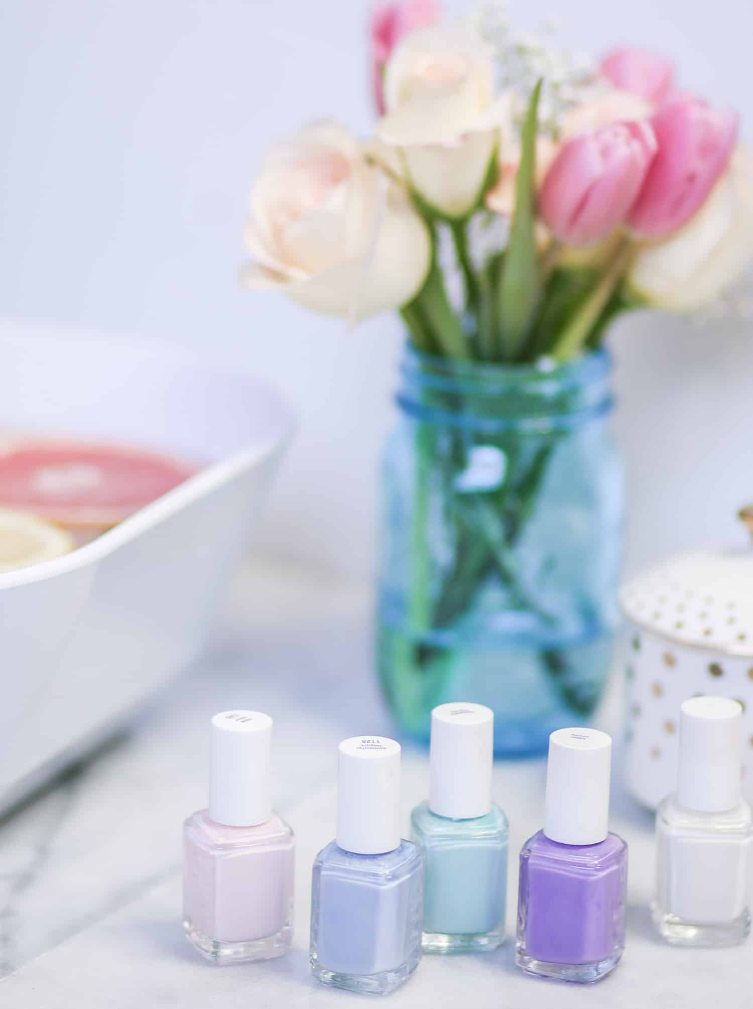 Diy mani pedi at home