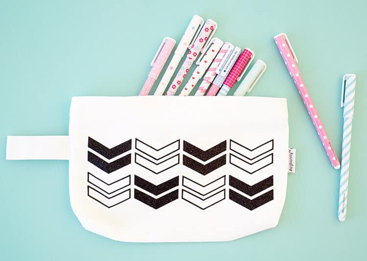 Diy pencil pouch with cricut