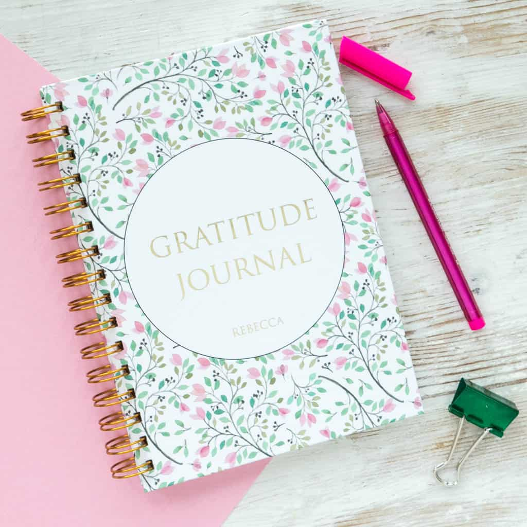 Gratitude journal idea