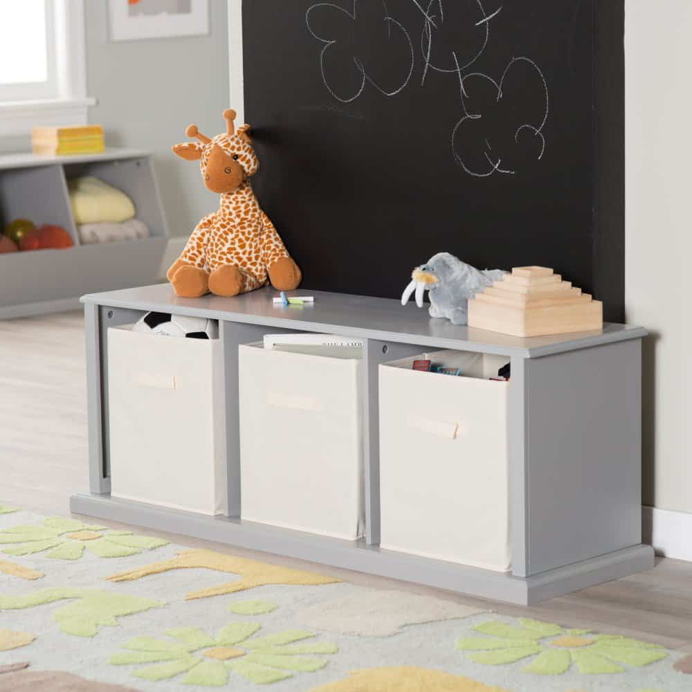 Hopscotch storage bench