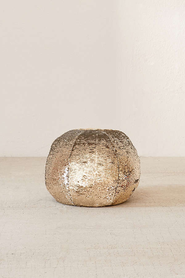 Mermaid reversible sequin pillow pouf from urban outfitters