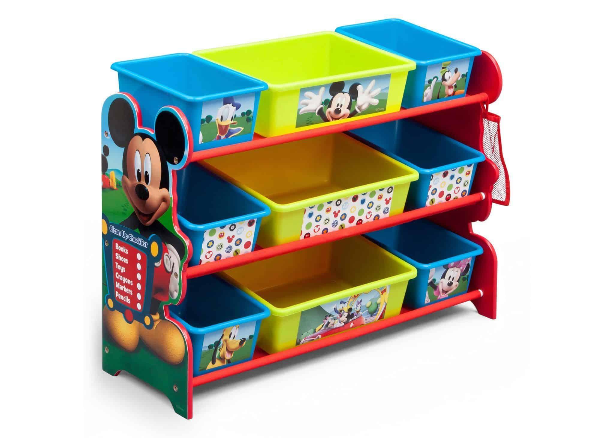 Mickey mouse plastic bin organizer