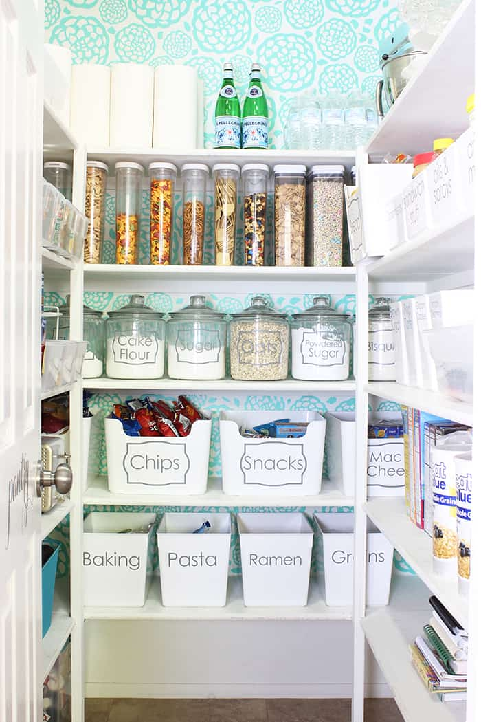 Pantry clear containers organization