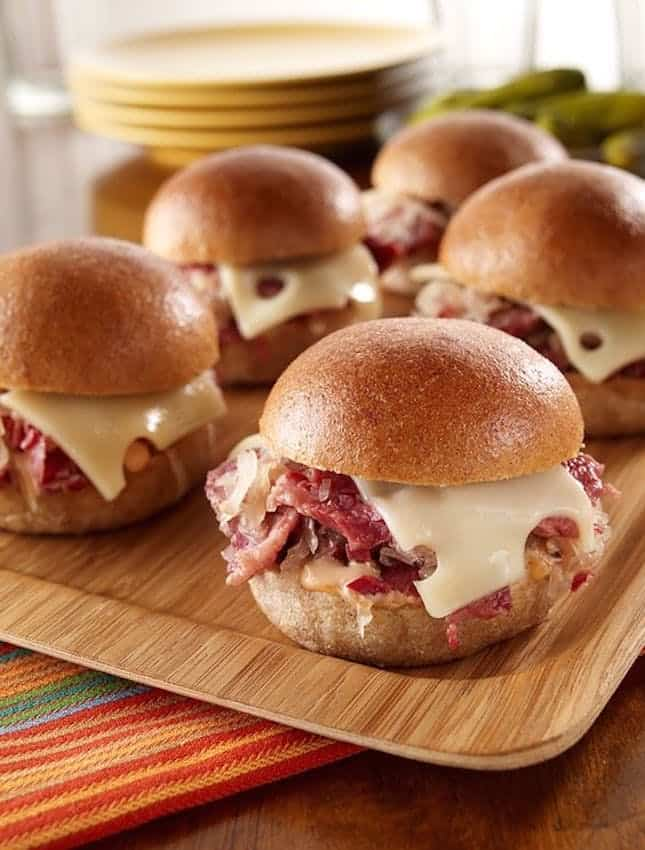 Reuben sliders recipe