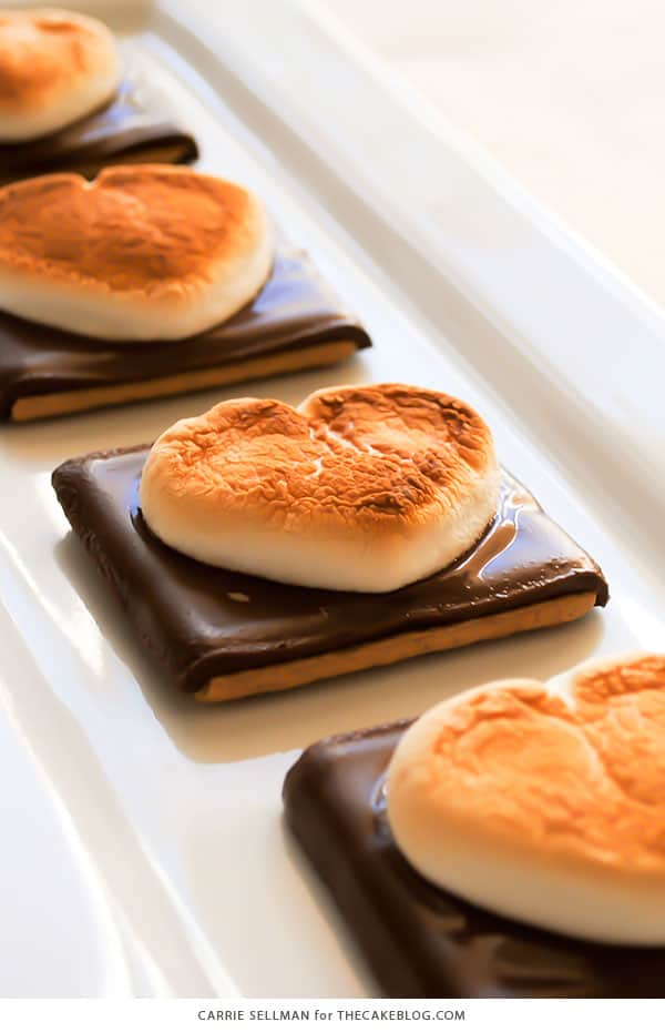 Smore heart cookies recipe