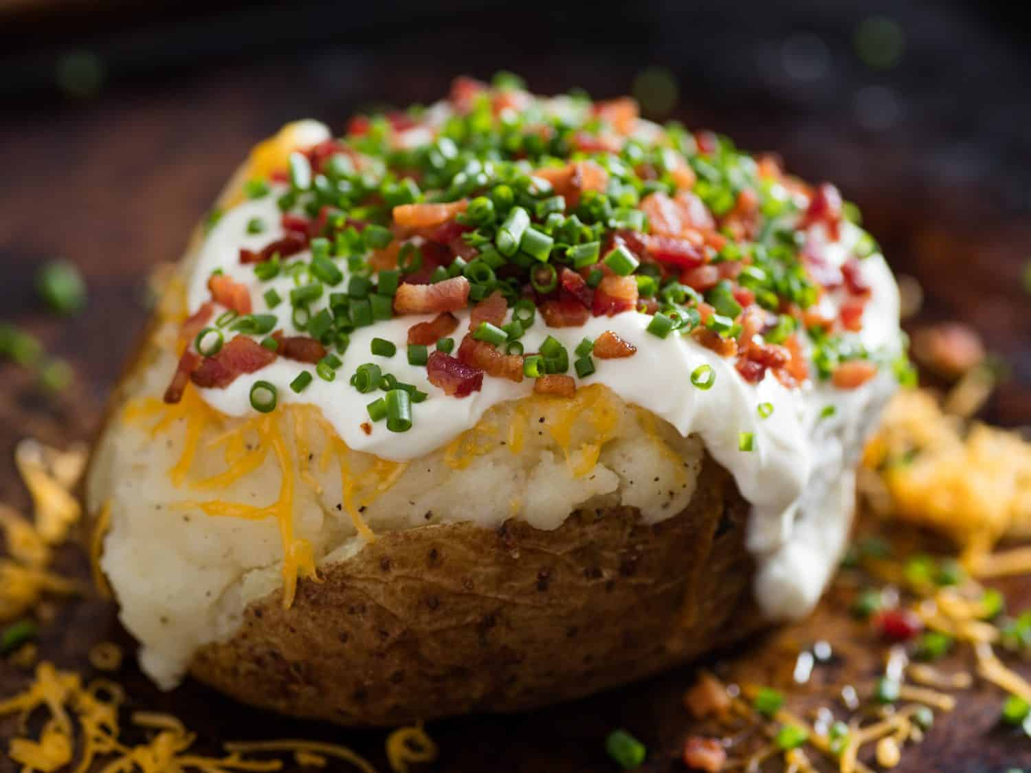 The ultimate baked potato recie
