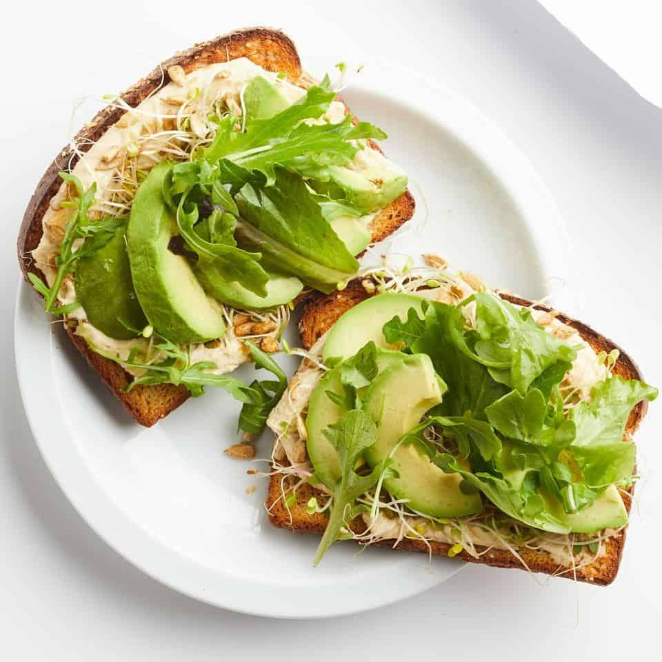 West coast avocado toast recipe