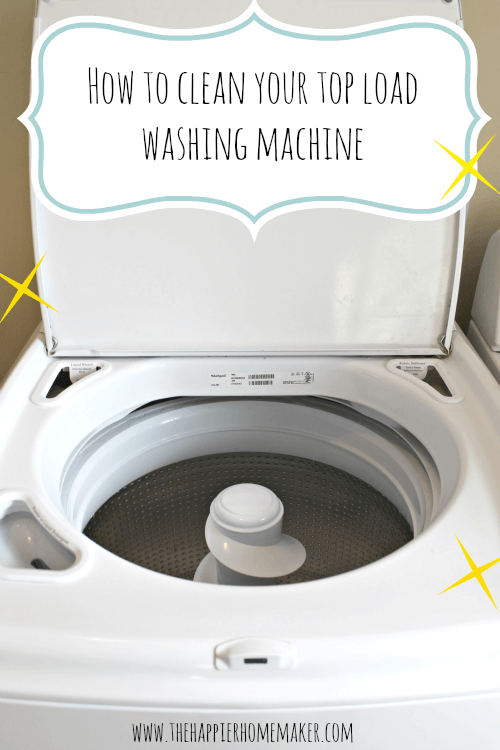 Cleaning a washing machine with bleach and white vinegar