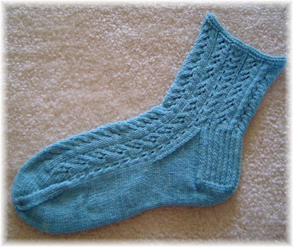 Cottage garden socks