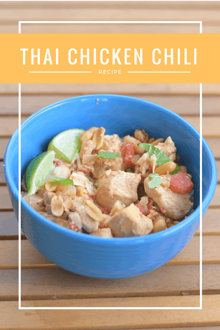 Crockpot thai chicken chili