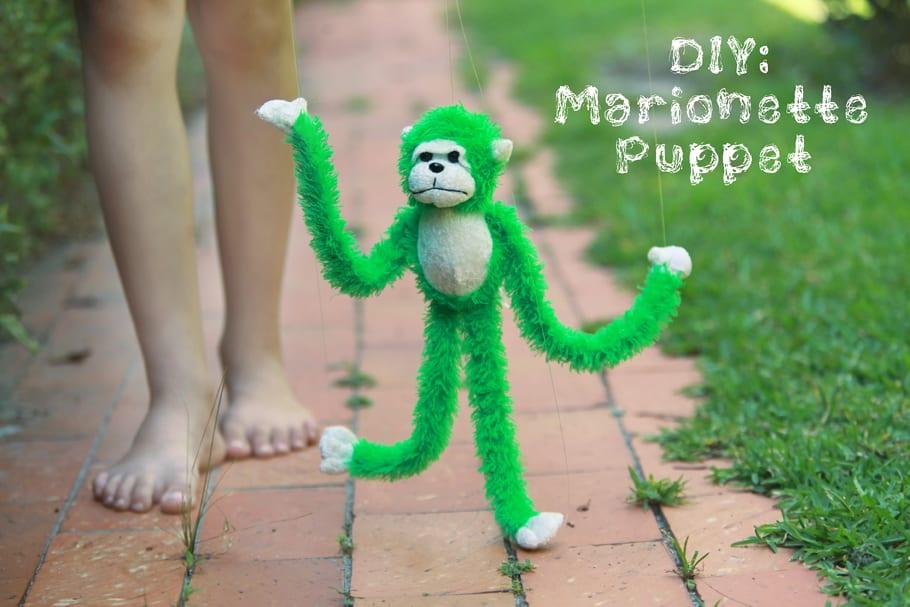 Diy marionette puppet