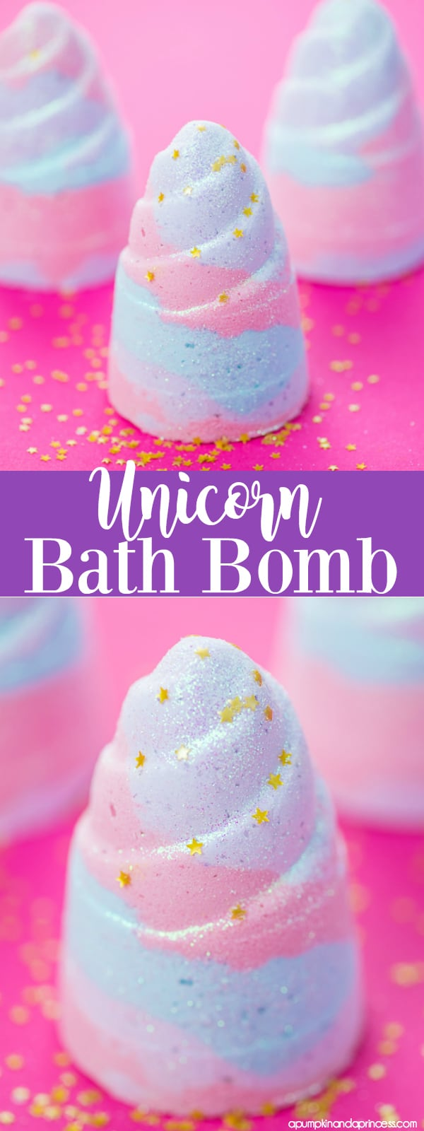 Diy unicorn bath bombs